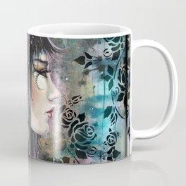 Rose Tattoo Fantasy Art by Molly Harrison Coffee Mug
