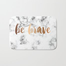 Be Brave Marble 045 Bath Mat