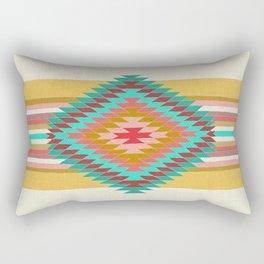 FIESTA (teal) Rectangular Pillow