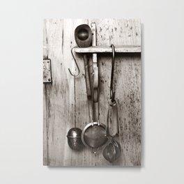 KITCHEN EQUIPMENT - Duplex Metal Print