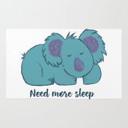 Need more sleep Rug