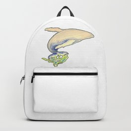 Humpback whale jump Backpack