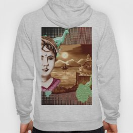 Rose Marry and moon light Hoody