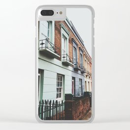 Gloomy Day In Camden Clear iPhone Case
