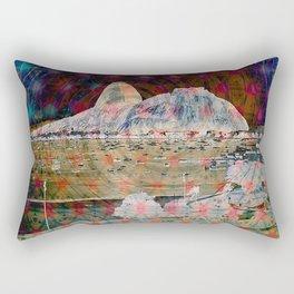 Hill cableway Rio de Janeiro Rectangular Pillow