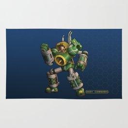 Baby Commando Rug