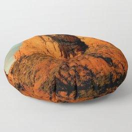 RED ROCKS - SEDONA ARIZONA Floor Pillow