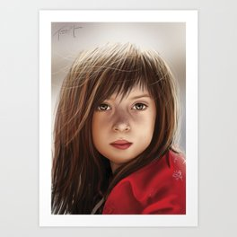 Maisie Art Print