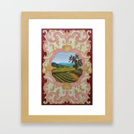 French Panel Framed Art Print