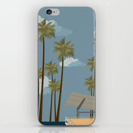 Dodger Stadium's Outfield Pavilion iPhone Skin