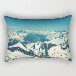 Mountain Peaks | Photography Rectangular Pillow