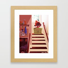 Ready for Take Off Framed Art Print