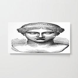 GOD face Metal Print