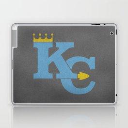 Kansas City Sports Light Blue Laptop & iPad Skin