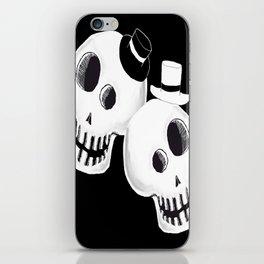 Dapper Skulls iPhone Skin