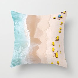 Be Unique Throw Pillow