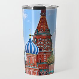 St. Basil's Cathedral (color) Travel Mug