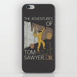 Books Collection: Tom Sawyer iPhone Skin