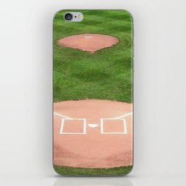 Baseball field iPhone Skin