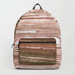 Light taupe abstract watercolor background Backpack