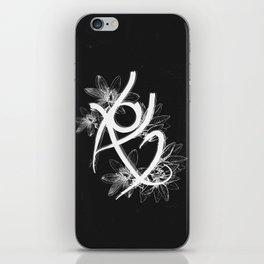 Fearless Rune iPhone Skin