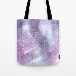 Purple Blue Abstract Watercolor Painting For Her Tote Bag