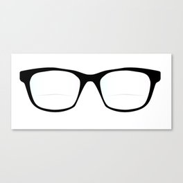 Pair Of Optical Glasses Canvas Print