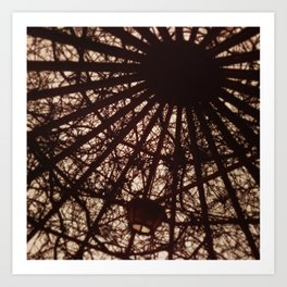 Softened Skylight Art Print