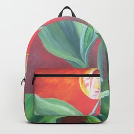 Red and Yellow Tulips Backpack