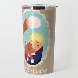 The little prince, Forever friends Travel Mug