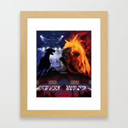 Metal Gear 19XX Framed Art Print