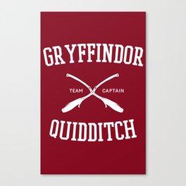 Hogwarts Quidditch Team: Gryffindor Canvas Print