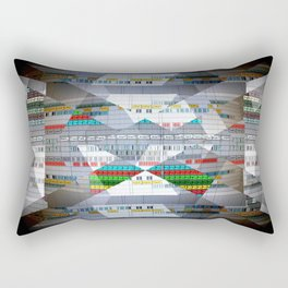 Arrangement Roll Rectangular Pillow