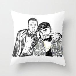 Jay & Ye Throw Pillow