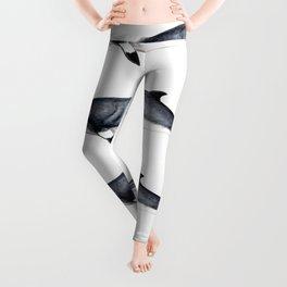 Minke whale Leggings