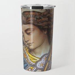 Angel in Glass Travel Mug