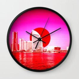 Modern Japan - Yokohama Wall Clock