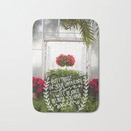 Your Unfailing Love  |  Psalm 13:5 Bath Mat