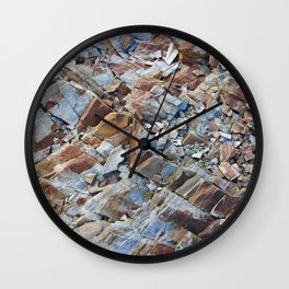 Natural Rock Pattern Wall Clock
