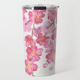 Weeping Cherry Blossom Travel Mug