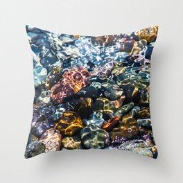 Pebble beach 4 Throw Pillow