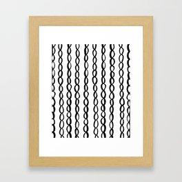 Chain Chain Chain Framed Art Print