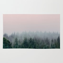 Forest in Pink Rug