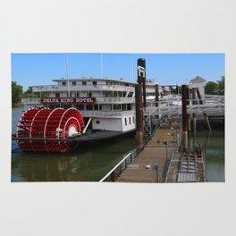 Delta King  Riverboat Rug