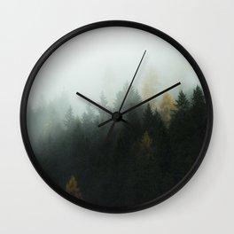 Morning Forrest Wall Clock