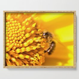 Save the Bees by Reay of Light Serving Tray