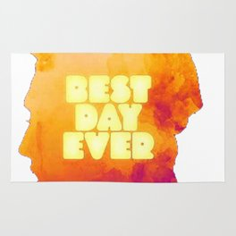 MAC MILLER---BEST DAY EVER Rug