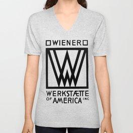 Wiener Werkstaette of America Unisex V-Neck