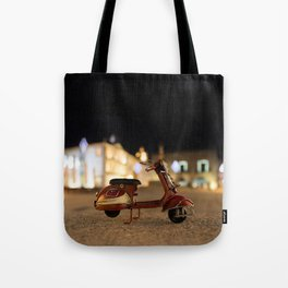 Little Cars, Big Planet (Let's Ride) Tote Bag