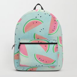 Spilled Watermelon Pattern Backpack